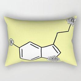 Serotonin Flower Rectangular Pillow