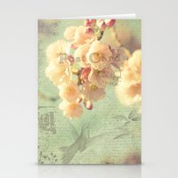 postcard Stationery Cards featuring Postcard by AlejandraClick