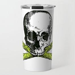skull asparagus Travel Mug