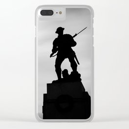 Victoria silhouettes Clear iPhone Case
