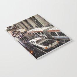 Rainy Rush Hour Notebook