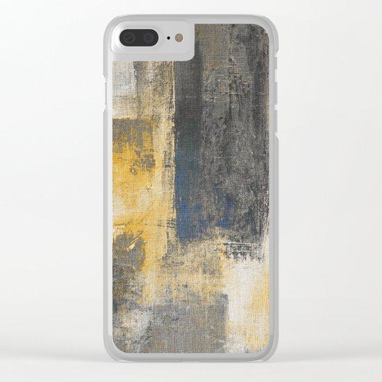 Pitch Lake Clear iPhone Case