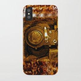 Vintage Victor Camera HDR iPhone Case