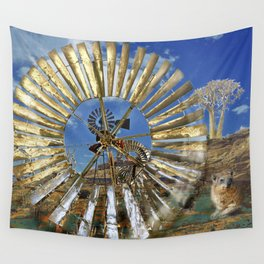 Wind Punk Quiver Wall Tapestry