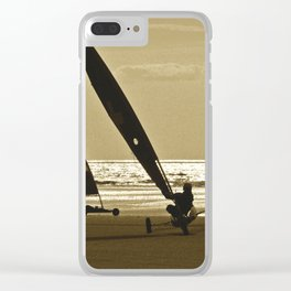 Yachting Chars à voile Clear iPhone Case