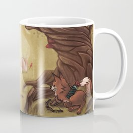 Catching the rabbit Coffee Mug
