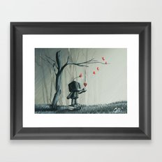 I finally found you Framed Art Print