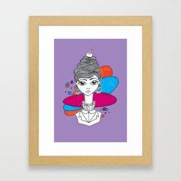 Carla Framed Art Print
