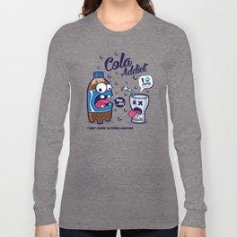 Blue Cola Addict Long Sleeve T-shirt