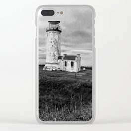North Shore Lighthouse Clear iPhone Case