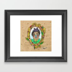 Mr. Trulala Framed Art Print