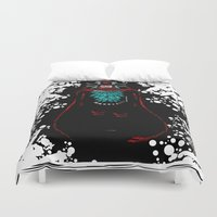 general Duvet Covers featuring The General by lunesme