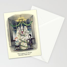 Don't Blink *snap snap* Stationery Cards