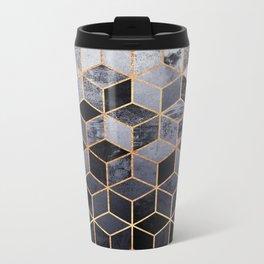 Daydream Cubes Metal Travel Mug