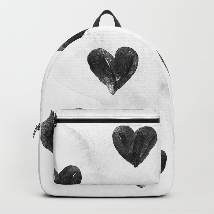 I drew a few hearts for you Backpack