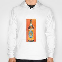 ale giorgini Hoodies featuring BEER ART - Oberon Ale by Dorrie Rifkin Watercolors