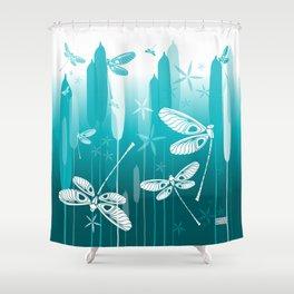 CN DRAGONFLY 1014 Shower Curtain
