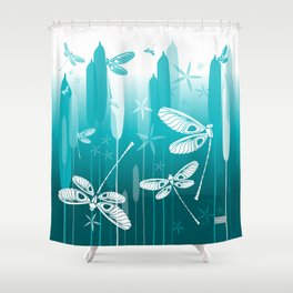 CN DRAGONFLY 1014 Shower Curtain