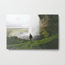 In the shadow of the falls Metal Print