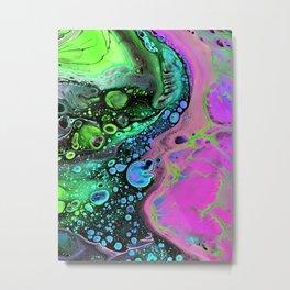 Jasper Sea - pink Metal Print