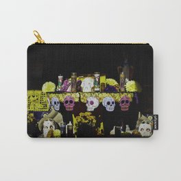 Dia de los Muertos Altar with Marigolds and Sugar Skulls Carry-All Pouch