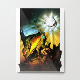 A Song of Ice King & Fire Metal Print