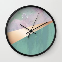 Mermaids & Unicorns Wall Clock