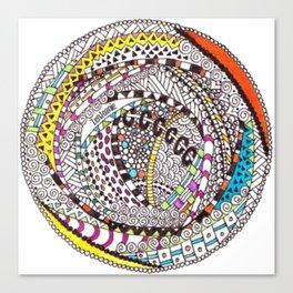 """""""RoundAbout"""" Canvas Print"""
