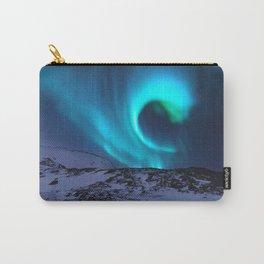 Aurora BorealiS Mountains Carry-All Pouch