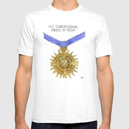 The Congressional Medal of Pizza T-shirt