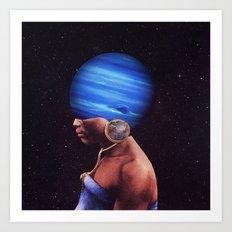 Nepne Rising Art Print
