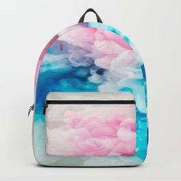 smoke paint modern design Backpack