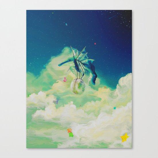 Lunar Thief Canvas Print