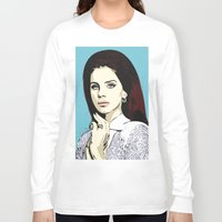 lana Long Sleeve T-shirts featuring LANA by DVNJCK