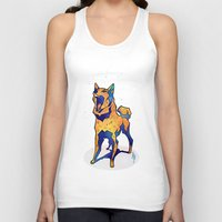 aurora Tank Tops featuring Aurora by CanisAlbus