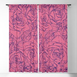 Flowers Pattern 49 Blackout Curtain