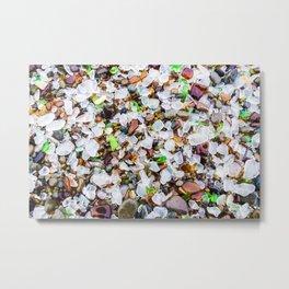 Sea Glass Treasures At Glass Beach Photograph by Priya Ghose Metal Print