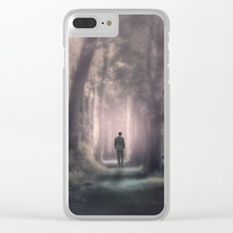 Into The Light Clear iPhone Case