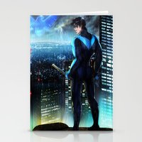 nightwing Stationery Cards featuring Nightwing by Cielo+