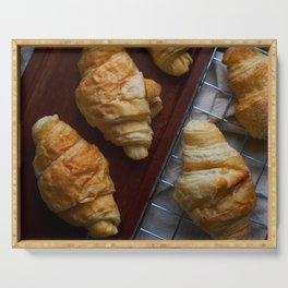 Croissants Serving Tray