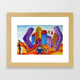 Don't Forget the Wash Framed Art Print