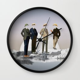 Natural Inhabitants Wall Clock