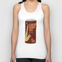 ale giorgini Tank Tops featuring Chicago Brown Ale by Moto