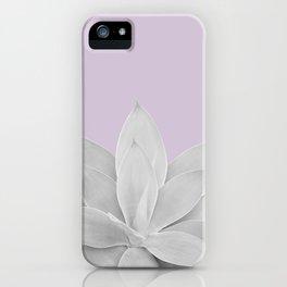 Lavender Fog Agave #1 #tropical #decor #art #society6 iPhone Case