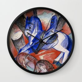 "Franz Marc ""Saint Julian l'Hospitalier"" Wall Clock"