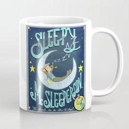 Sleepy McSleeperson Coffee Mug