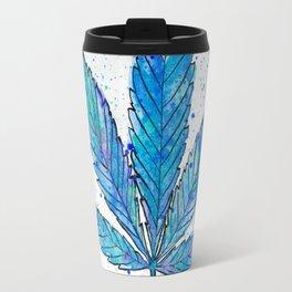 Canna Be Blue Travel Mug