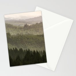 Pacific Coast Mountain Forest - 124/365 Stationery Cards