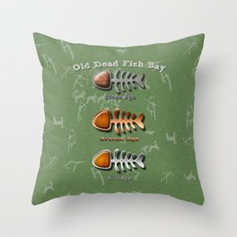 Ages Throw Pillow
