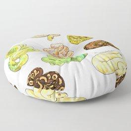 Snakes Floor Pillow